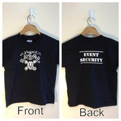 "Image of ""Event Security"" Youth 432 T-shirt (Black)"