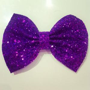 Image of Purple Glitter bow