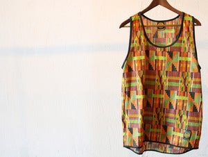 Image of CUSTOM MADE - KENTA PRINT TANK TOP