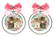 Image of Lovely Kitties Earrings