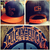 Image of LF Orange & Black SnapBack Hat LE IN STOCK!