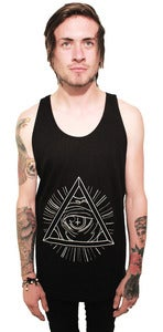 Image of Unisex All Seeing Eye Tank Top
