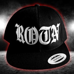 "Image of ""ROTNS"" Snapback Black"