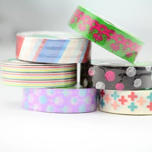 Image of Multi Patterned Washi Tape