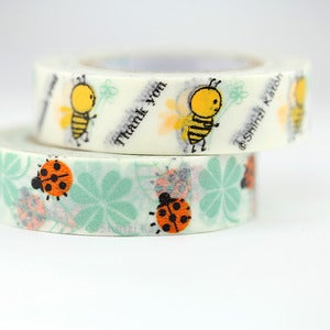 Image of Cute Bug Washi Tape