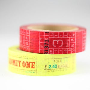Image of Ticket Washi Tape