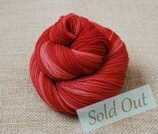 Image of Red Dahlia- Marionberry Sock