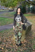 Image of Vtg Camo Pants Sz XS SOLD OUT