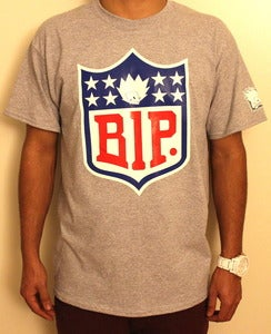 "Image of ""NFL"" Tee in Gray"