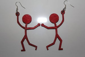 Image of HANG ON! Red