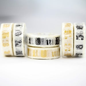 Image of Alphabet Washi Tape