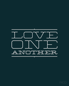 Image of Love One Another (Serif) - Printable PDF