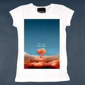 Image of Wish you were here - Woman (Skinny Shirt)