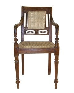 Image of Small Indo-Portugese Teak Chair