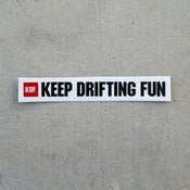 Image of KDF Single Mini sticker