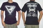 "Image of PYREXIA & BEHEADED ""Europe Tour 2013"" Short Sleeve (Black)"