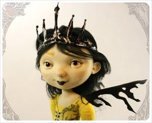 Image of SOLD!~ Andromeda,  StarPowder Foreigner Doll by the Filigree