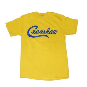 Image of Crenshaw T-Shirt (Yellow/Royal)