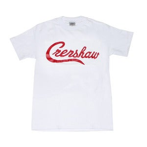 Image of Crenshaw T-Shirt (White/Red)