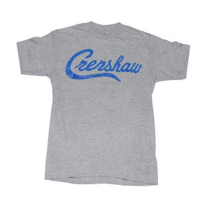 Image of Crenshaw T-Shirt (Grey/Royal)