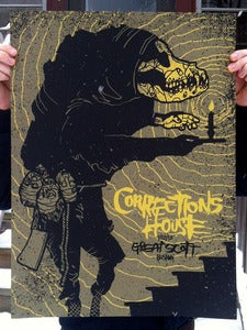 Image of Corrections House - Screenprinted Poster
