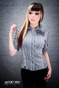 Image of S4L LADIES 'SMOKEN' ONE OF A KIND BUTTON UP