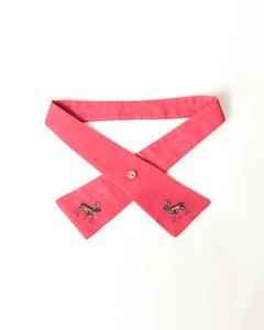 Image of Brownie Tie- Coral Pink