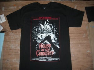 Image of House by the Cemetery (1981) cover T-shirt