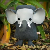 "Image of Flat Ephant the Elephant (Classic 9"" tall) Handmade"
