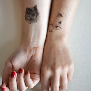Image of Temporary Tattoo Set of 3 by Harriet Gray