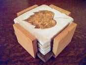 Image of Wood Coaster Holder
