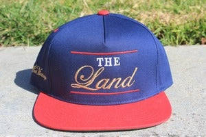 Image of The Land ( Blue Snapback )