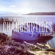 "Image of (PRE ORDER) Second To Last/Starters ""Changing Tides"" Split [Limited Lathe-Cut Clear Vinyl /25]"