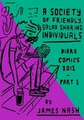 Image of A Society of Friendly Salad Eating Individuals: Diary Comics 2012, Part 1