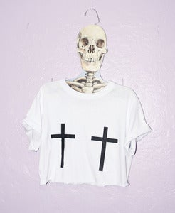 Image of Holy Crosses Crop Top