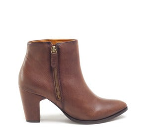 Image of Miista Val Cognac leather boots