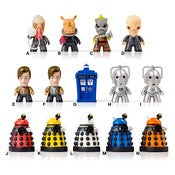 Image of Doctor Who Titans Series 1 Vinyl Figures