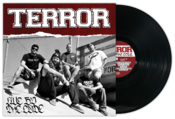Image of Terror &quot;Live By The Code&quot; LP Black Vinyl