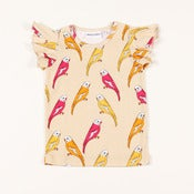 Image of MINI RODINI budgie wing tee