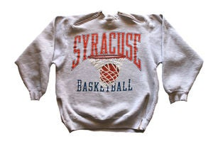"Image of Men's D.Fame Custom ""Syracuse"" Crewneck"