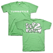 "Image of Turnstile ""Step To Rhythm"" Green TS"