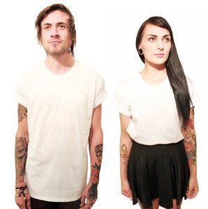 Image of Unisex Basic White Tee