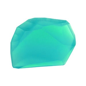 Image of Soap Stones by PELLE: Aquamarine/Camphor Rock 10oz