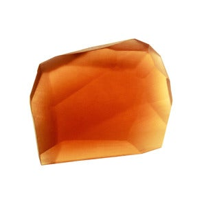 Image of Soap Stones by PELLE: Amber/Cedarwood Rock 10oz