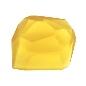 Image of Soap Stones by PELLE: Citrine/Lemon Basil Rock 10oz