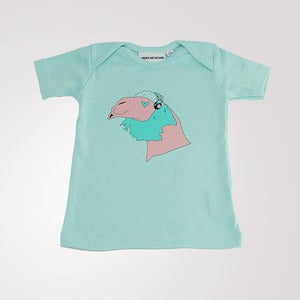 Image of Conrad T shirt Soft Mint Green