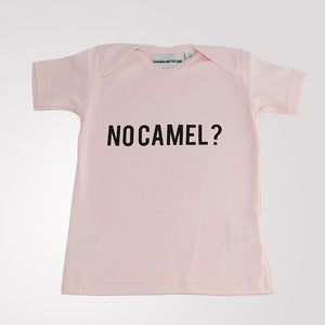 Image of No Camel? T shirt Pink