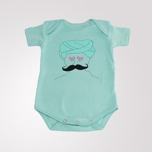 Image of Urban Romper Mint Green