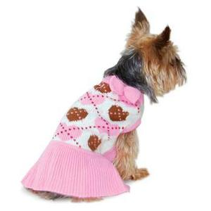 Image of Preppy Heart Sweater Dress by Dogo
