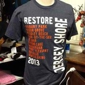 Image of Restore The Shore T-Shirts -- Fundraiser
